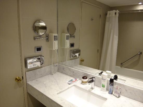 Holiday Inn Express Temuco: Bathroom