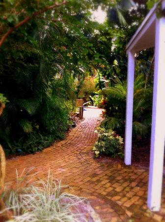 Mary's Resort: pathway at Mary's