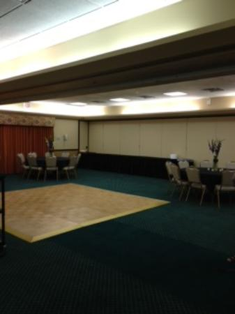 Hyatt Place Phoenix Chandler-Fashion Center: Dance Floor, Tables Set Up, Buffet Table in background set up
