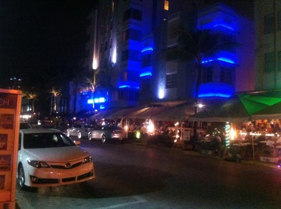 The Park Central: view from ocean drive