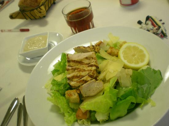 Seattle Airport Marriott: Caesar salad