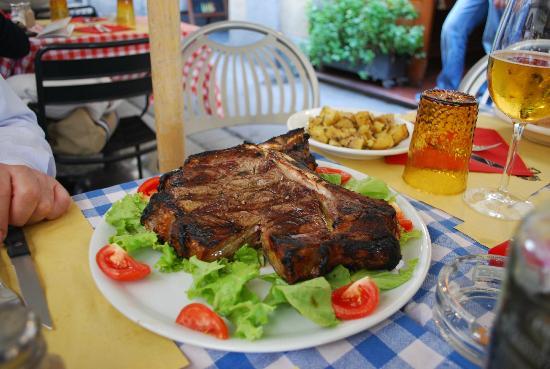 Ristorante Al Bagolo: bifé de chorizo