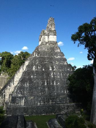 Tikal National Park Campground: Temple
