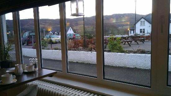 The Lovat, Loch Ness: view from the dining