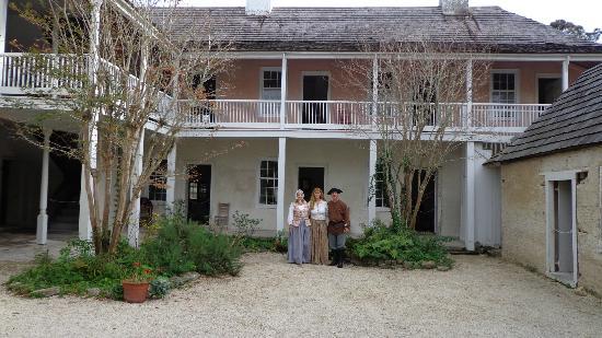 The Ximenez-Fatio House: Cindy, Jeff Spears and Cyndee Jameson