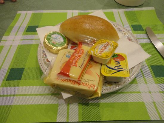 Hotel Dorica: Desayuno