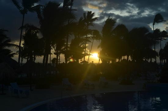 Grand Bahia Principe Punta Cana: Palm trees morning
