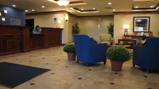 Holiday Inn Express Hotel & Suites Dewitt (Syracuse): Reception Area