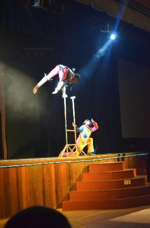 Grand Bahia Principe Punta Cana: show ....circus