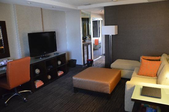 Hyatt Palm Springs: Wohnzimmer