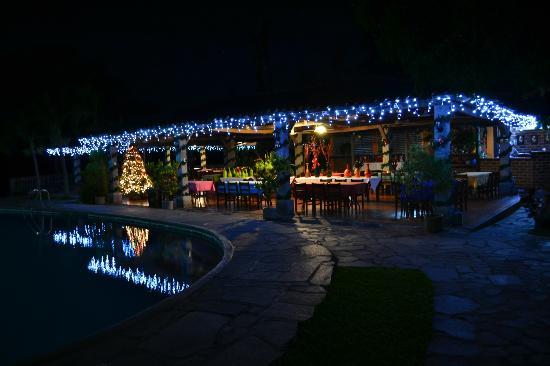 el tejado restaurant at night