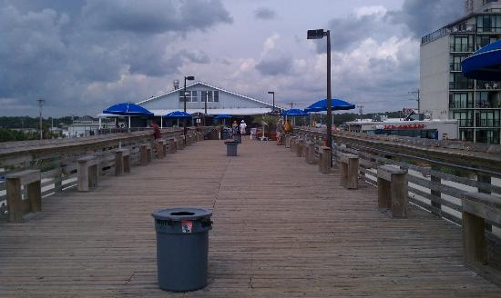 Looking Back Toward Store Picture Of The Pier At Garden