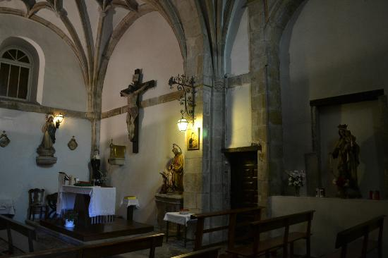Hotel Los Guardeses de Solares: The chapel.  Services Thurs. afternoons/Sunday mornings.