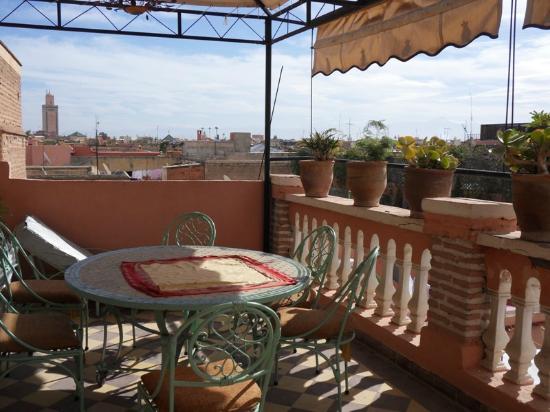 Riad Dalia: La terrasse