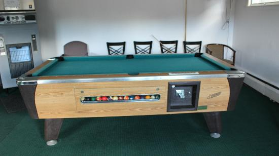 Swiss Chalets Village Inn: Pool table