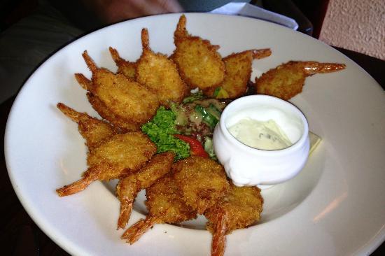 Leenane Hotel Restaurant : Fried Prawns