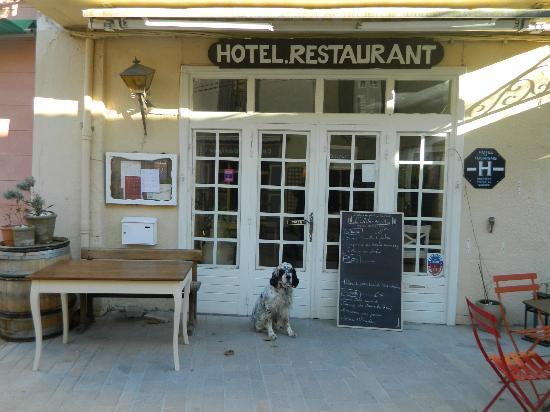 Hotel Restaurant l'Arbre de Mai : Texas(notre chien) a lui aussi été ravi !