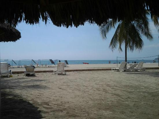 Zuana Beach Resort: Playa privada de Zuana
