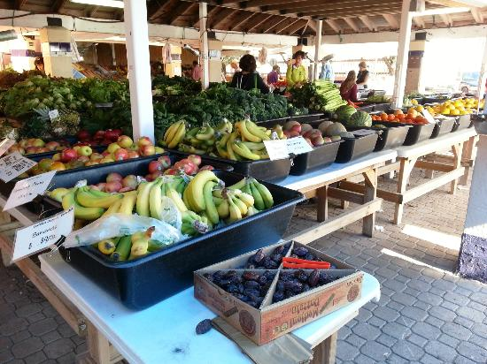 Villa Europa Hotel: Organic market