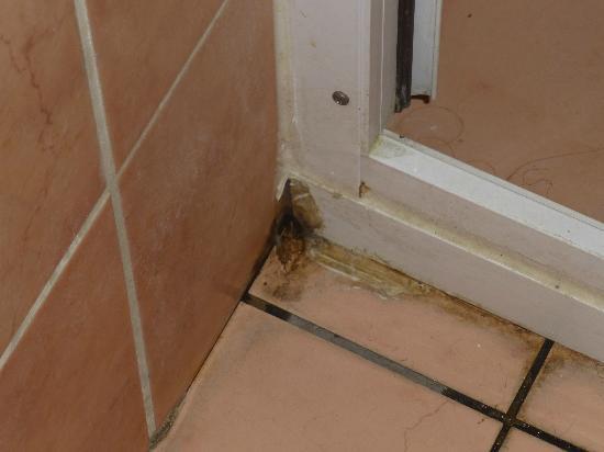 Otel Mevlana: mouldy bathroom