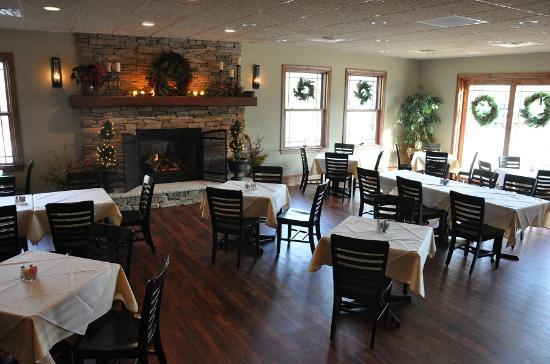 Rode's Fireside Restaurant: new dining room