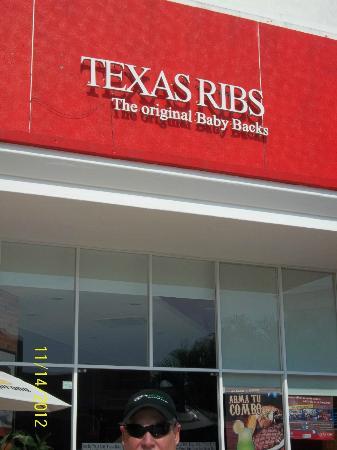 Texas Ribs La Isla