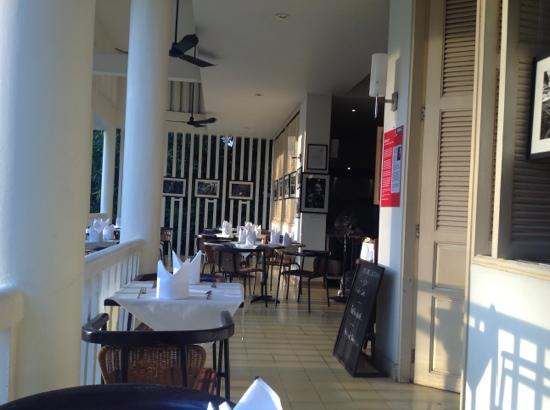 FCC Angkor: breakfast restaurant