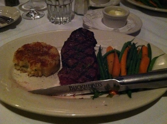 Excellent Non Chain Steak House In Richmond Review Of Buckhead S Restaurant Chop Va Tripadvisor