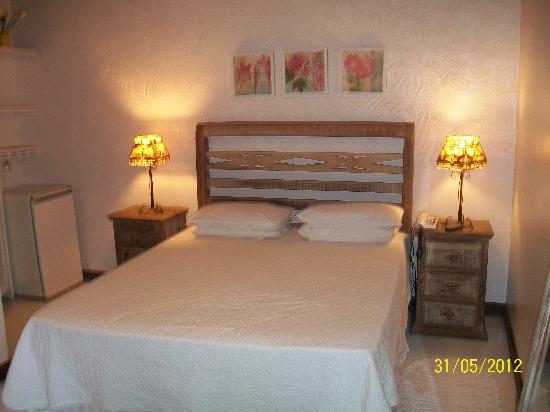 Vila do Abraao, RJ: fiquei nessa suite