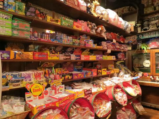 Jaxson's Ice Cream Parlor: candy store