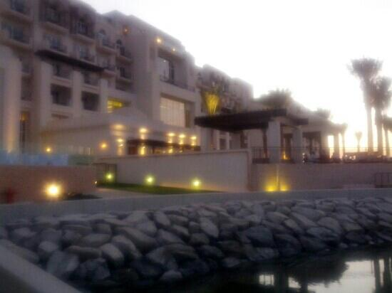 Anantara Eastern Mangroves Hotel & Spa: the back