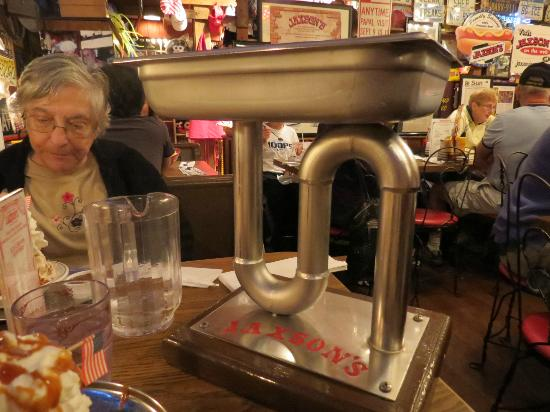 Jaxson's Ice Cream Parlor: the kitchen sink