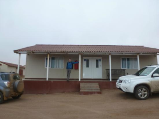 Skeleton Coast Park, นามิเบีย: Duplex cabin with covered porch