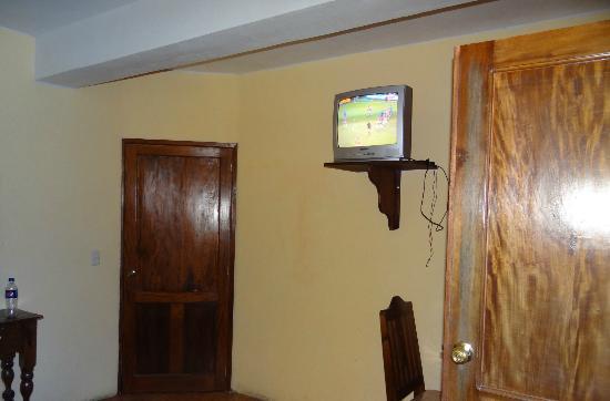 Hotel Kakchiquel: en el cuarto