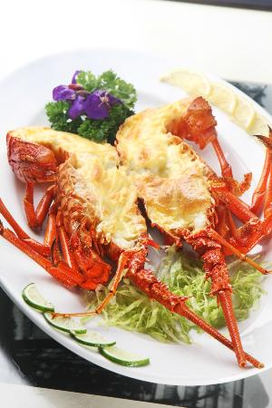 Happy Valley Seafood Restaurant: Australian Lobster Backed With Cheese