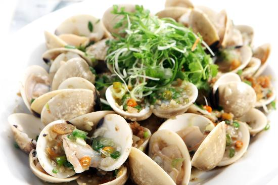 Happy Valley Seafood Restaurant: Scrip Venus Stir fried in Chilli Padi
