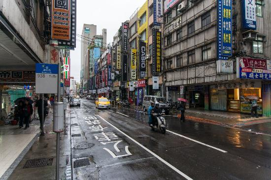 Camera Street: Camera St (Bo'an Rd) on a Rainy Day