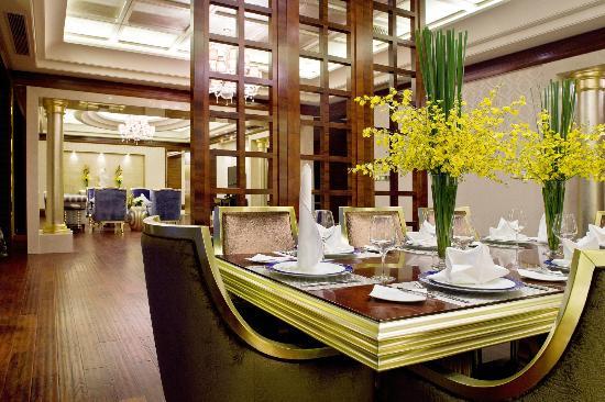 Howard Johnson Parkview Plaza Erdos: Presidential Suite Living Room