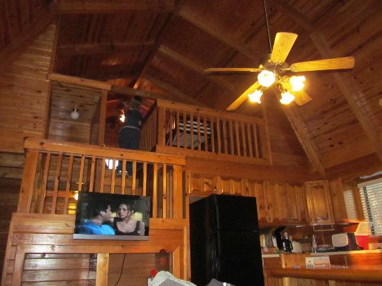 Loft Area Picture Of Uchee Creek Army Campground And