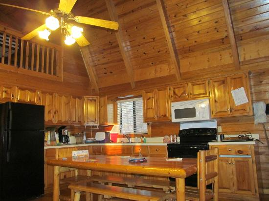 Uchee Creek Army Campground and Marina: Kitchen