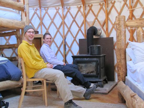 Tennessee Pass Sleep Yurts : Cozy