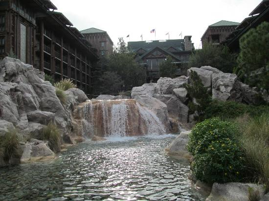 Disney's Wilderness Lodge : Pool Area