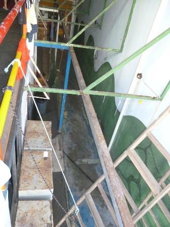 Piratas de Ipanema: Vista do segundo andar