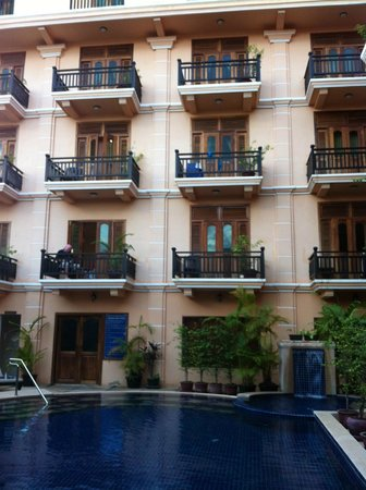 Apsara Dream Hotel: Pool View rooms