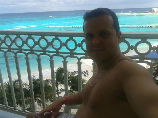 ريو كانكون أول إنكلوسف: Vista da varanda do quarto. 
