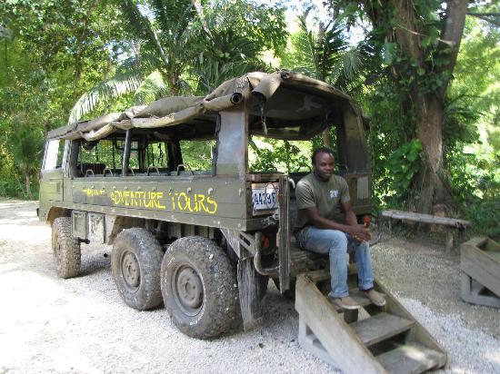 Jaital: Our transport!