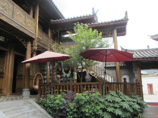 Tianyu Shangyuan Inn: Courtyard