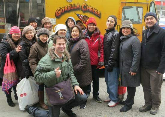 Sidewalks of NY Food Truck Tours: Tasting @ Gorilla Cheese, Sidewalks of NY Food Truck & Cart Tour