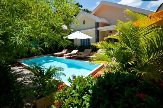 Villa Srey: The pool & garden