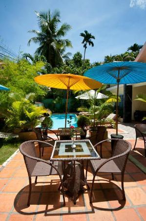 Villa Srey: Where breakfast is served